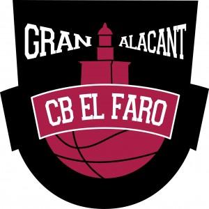 Logotipo de club Basket el faro gran Alacant