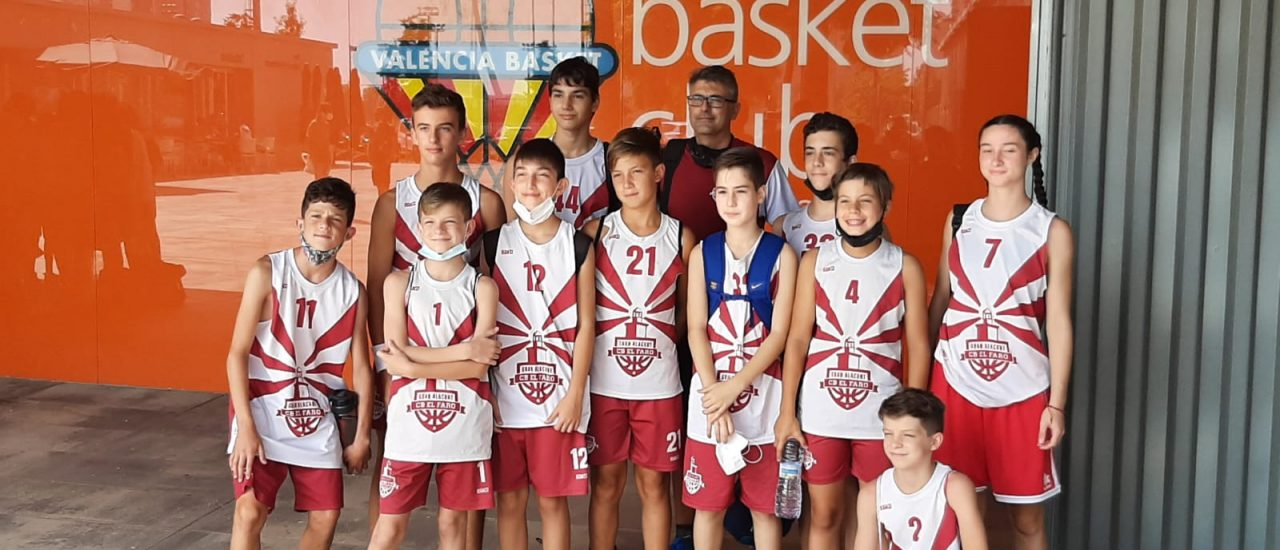 Valencia Basket Rojo-El Faro BC Final infantil 2° Zonal